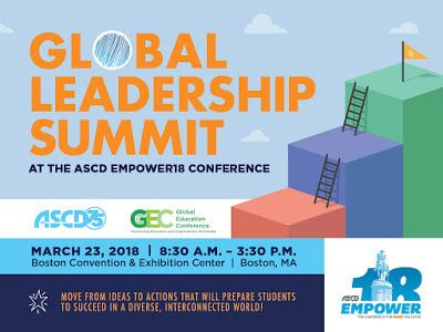 Join Us for the Third Annual Global Leadership Summit  March 23rd 2018 in Boston