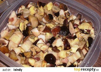 Mražené lesní houby recept - TopRecepty.cz