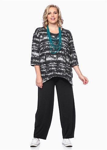 #TS Airbrushed Pullover #plussize #curvy