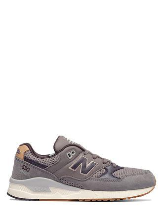 Skórzane sneakersy w kolorze szarym - New Balance - obuwie damskie i męskie - Limango