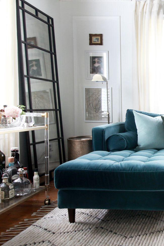 New Velvet Sectional New Living Room Look New Living Room Bohemian Chic Living Room Rugs In Living Room