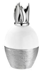 Lampe Berger - Silver Effects - White