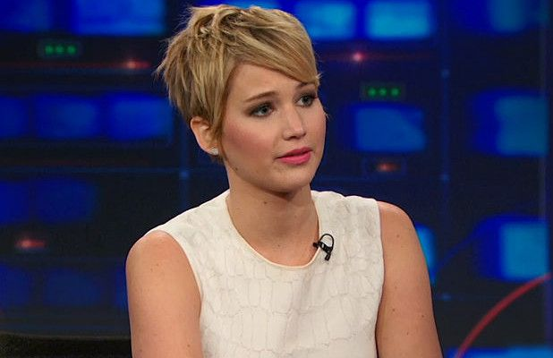 Jennifer Lawrence Tells Jon Stewart CNN Haircut Alert Was 'The Weirdest Thing That Has Ever Happened to Me' (Video)