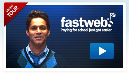 FastWeb is an internet-based scholarship search service. Students have to sign in to access the database.