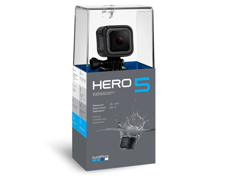 GoPro - HERO5 Session Waterproof Camera http://shop.gopro.com/cameras/hero5-session/CHDHS-501-master.html