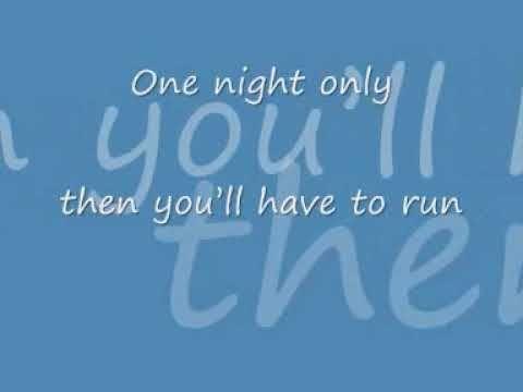 Jennifer Hudson one night only with lyrics - YouTube