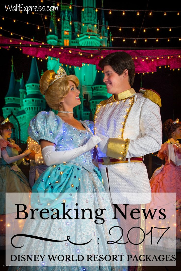 BREAKING NEWS: 2017 Walt Disney World Resort Packages are out! #DisneyWorld #Disney