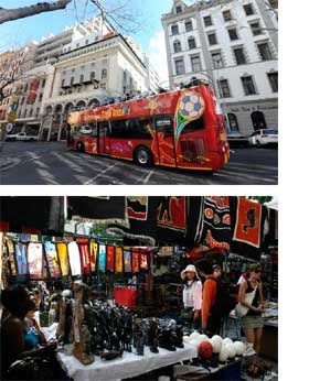 Ride the Hop on Hop off bus in Cape Town, South Africa