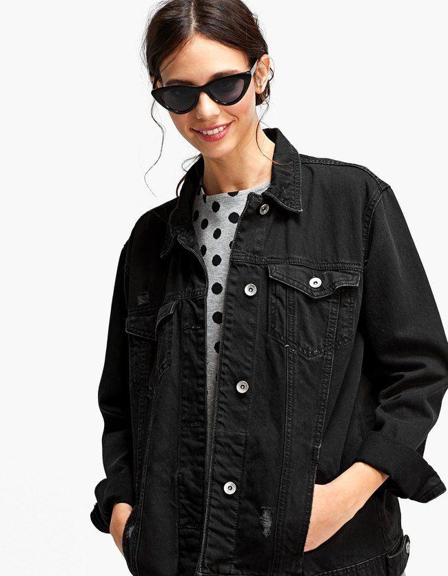 Größe 40 a807d 2a075 Pin von Melissa auf m o d e | Jeans jacken, Jacken und ...
