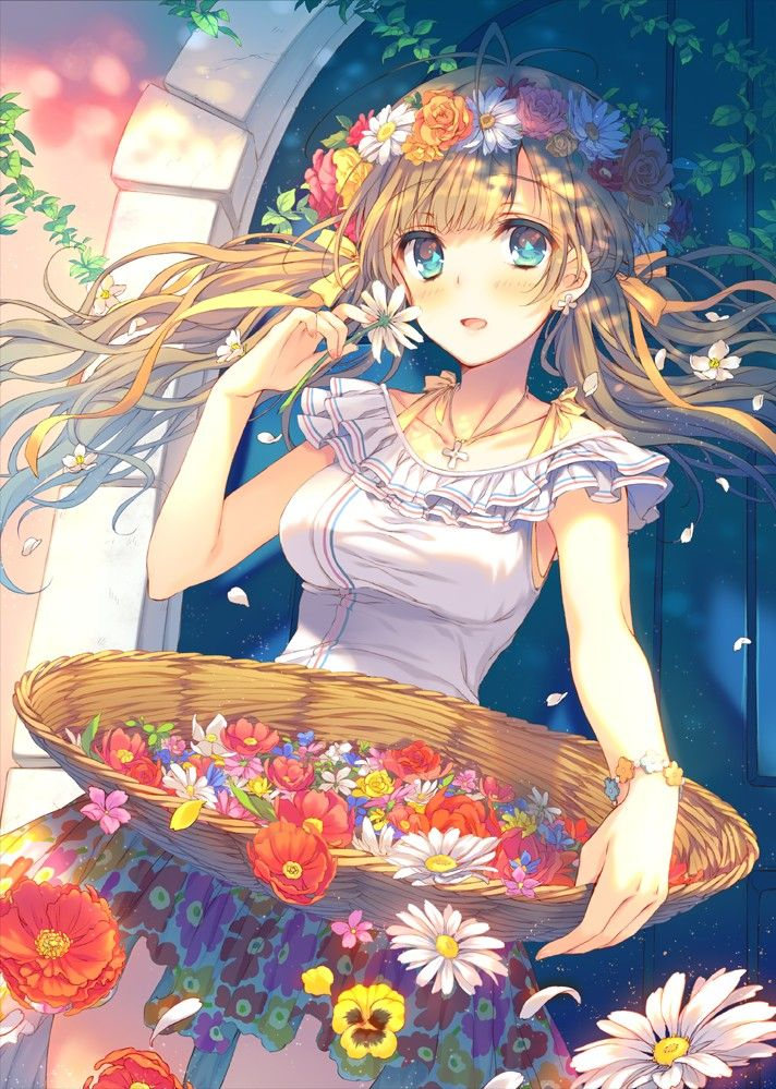 Pin On Anime Art ɓishouʝo Beautiful Girls