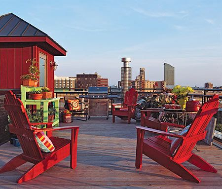 loft makeover fabulous places spaces pinterest rooftop deck