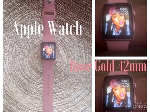 cool Unboxing: Rose Gold Apple Watch Sport 42mm + Apple Watch Sport Band (Vintage Rose) Check more at http://gadgetsnetworks.com/unboxing-rose-gold-apple-watch-sport-42mm-apple-watch-sport-band-vintage-rose/