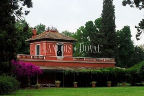Argentina. Finca en venta producción agrícola y recreo. Ideal hotel. Buenos Aires