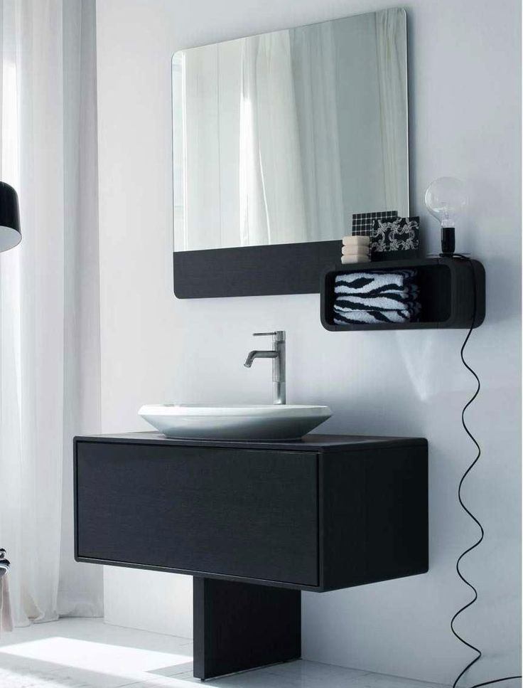 17 best images about wall mounted vanities on pinterest - Wall mount bathroom vanity cabinets ...