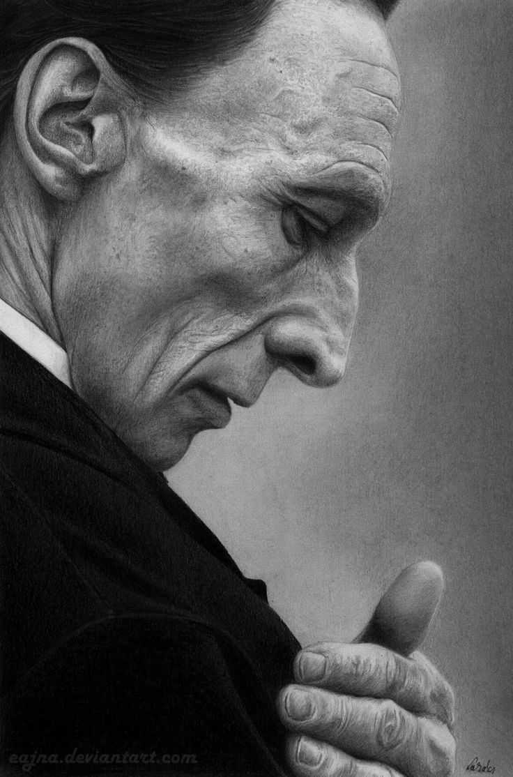 Julian Richings (Death - Supernatural) by *eajna on deviantART [not a photograph, very awesome]