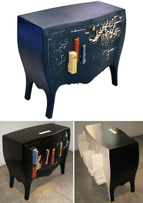 Push and Store Cabinet...interesting...