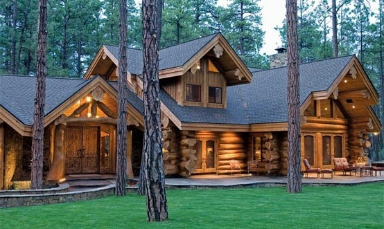 One of many log cabins…. —– I may be addicte…