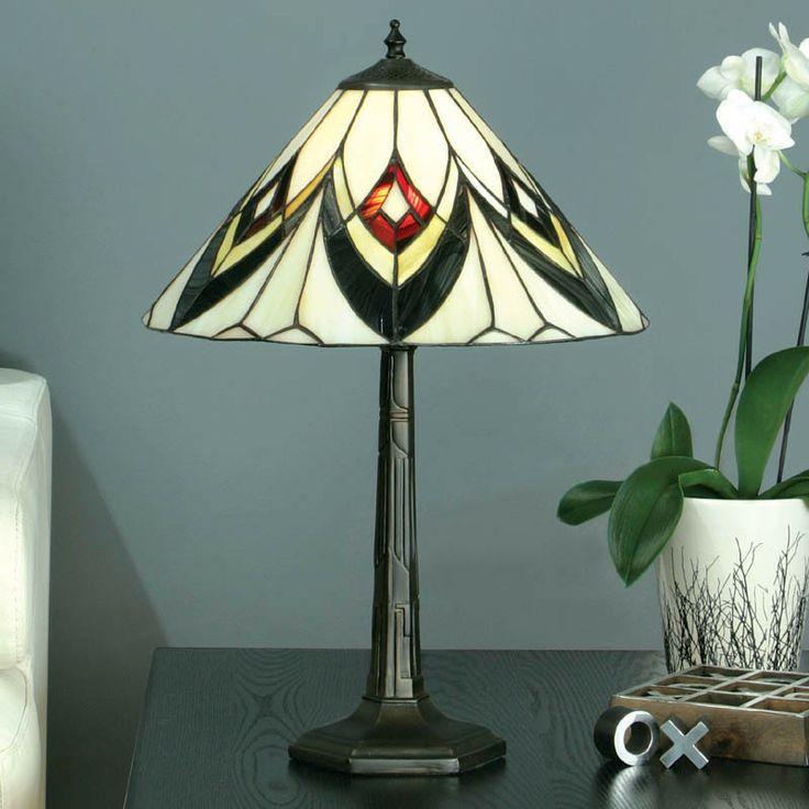Interiors 1900 DB132L1 + TV150SHM Odeon Table Lamp