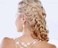 Beautiful way to involve Dutch Braids into a Greek Goddess Hairstyle!