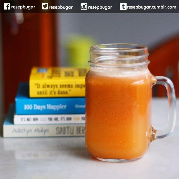 Jus 3 Diva (untuk kesuburan)  Bahan-bahan : 4 - 6 wortel ukuran sedang 2 buah apel malang 2 buah tomat merah  Cara membuat jus 3 diva : 1. Cuci semua bahan memakai air bersih masukkan ke dalam juicer. 2. Proses hingga sarinya keluar tampung dalam gelas. 3. Agar lebih segar tambahkan potongan es batu atau simpan jus dalam lemari pendingin selama beberapa saat sebelum disajikan.  Catatan : Olahan resep jus 3 diva atau femmie juice ini bermanfaat untuk meningkatkan kesuburan pria dan wanita…