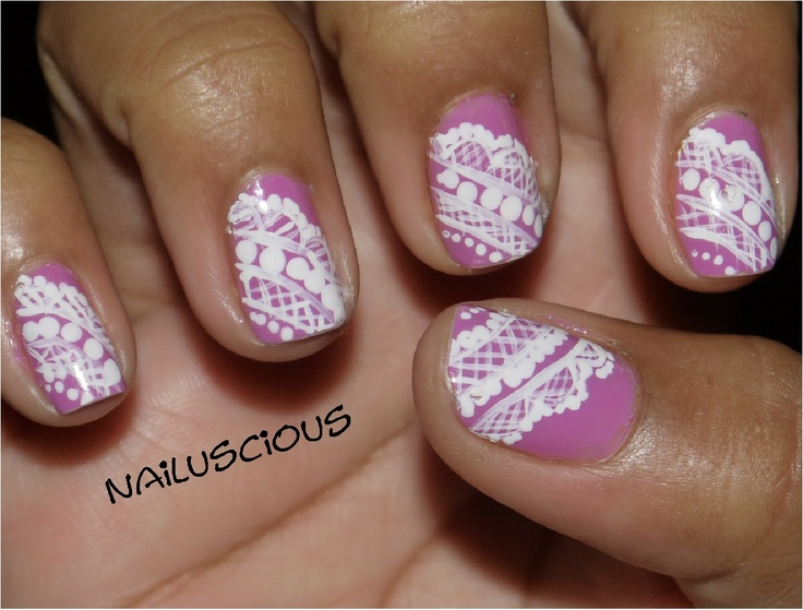 Nailuscious: Day 15: Delicate: Nails Art, Valentine'S S Nails