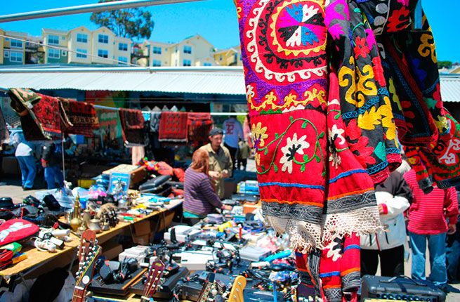 23 Under-The-Radar Things to Do in San Francisco.  Alemany Flea Market.