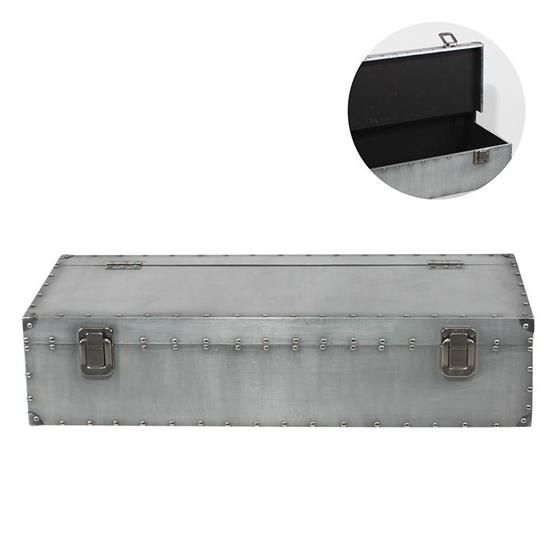Wooden wall shelf with aluminium cover www.inart.com