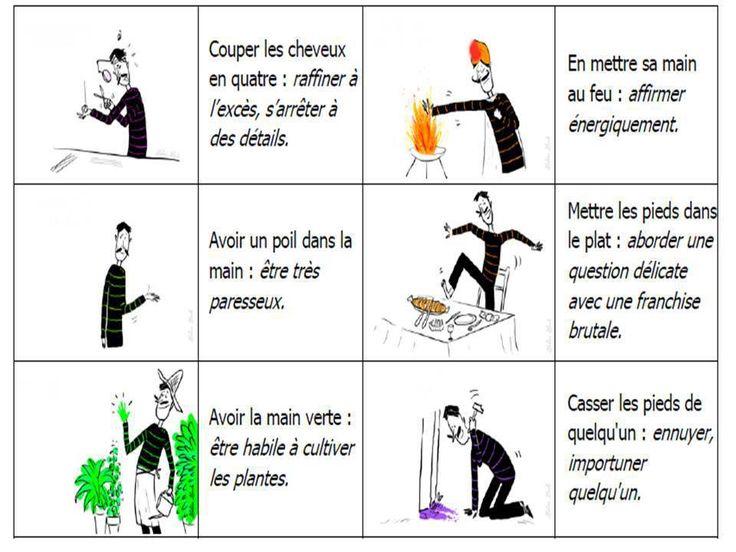 des expressions françaises