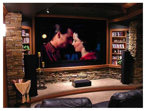 man cave home theater minus the chick flick mikey s