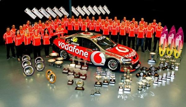 V8 Supercar champs on a Roland