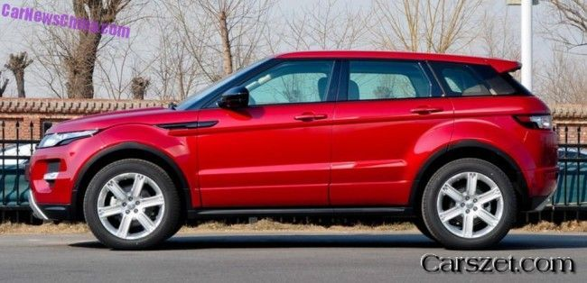 Landwind has called the price of the cloned Range Rover Evoque