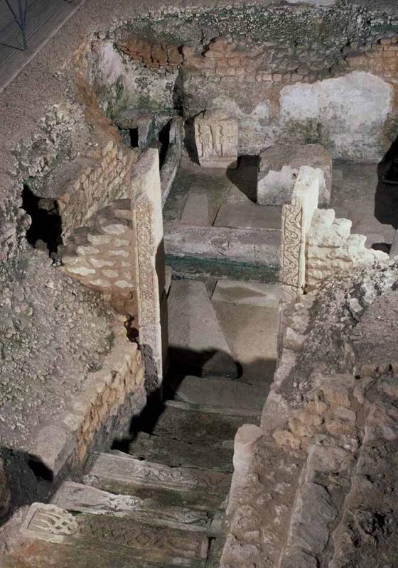 Hypogée des Dunes, Poitiers, nécropole mérovingienne