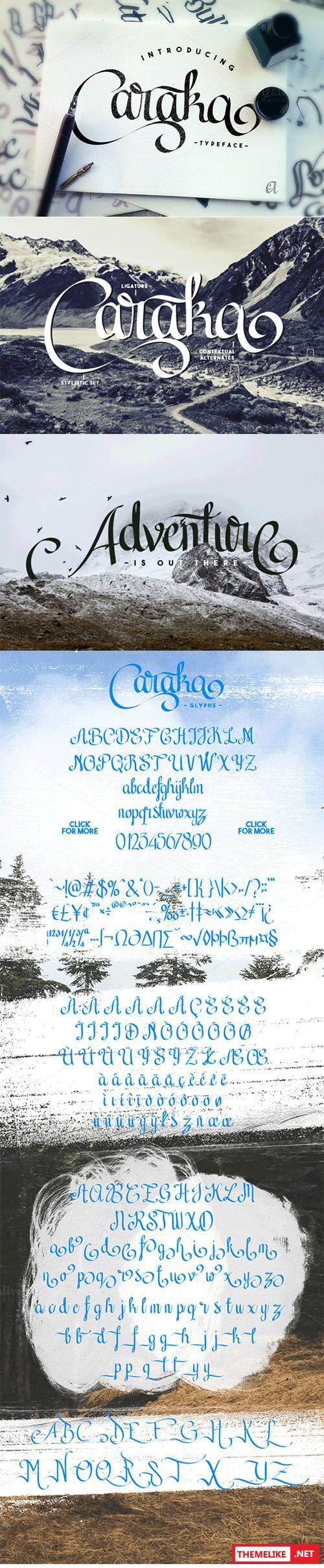 Caraka Font 266 best tipogrfia images on