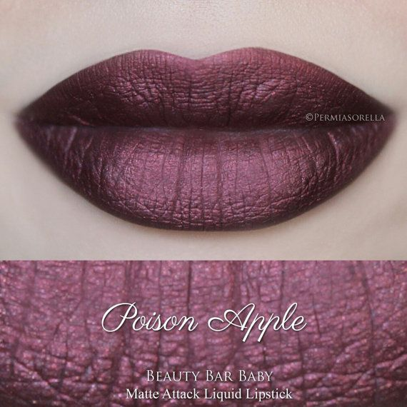 Hey, I found this really awesome Etsy listing at https://www.etsy.com/uk/listing/244289563/poison-apple-liquid-lipstick-matte
