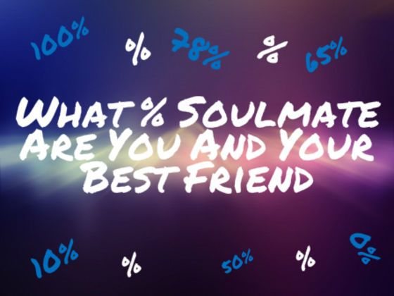 Is your best friend that one person who understands you completely? Take our quiz to find out! I GOT 100%