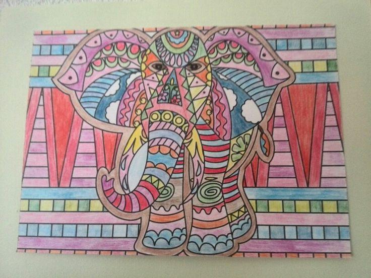 Vrolijke olifant