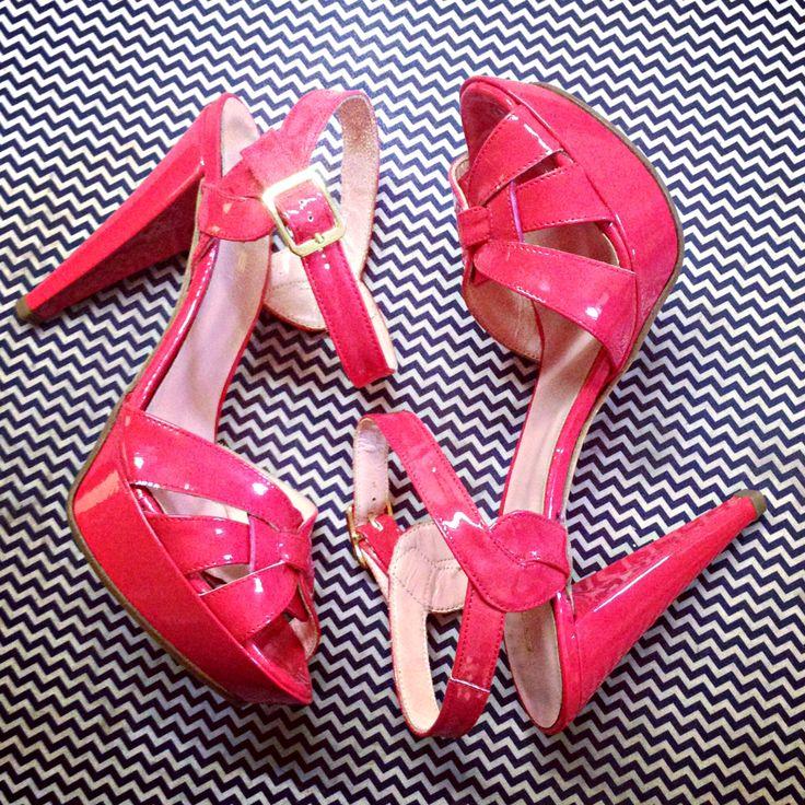 Sandalo Corallo tacco 11!