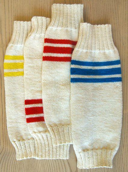Whit's Knits: Tube Sock LegWarmers