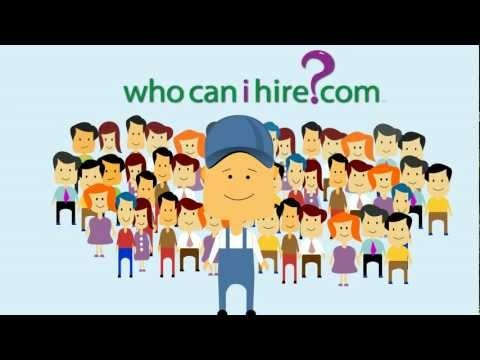 What's whocanihire.com?  Watch our great new explainer video!