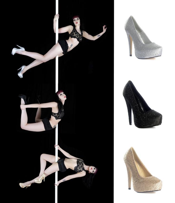 Tankotanssia Korkokengissä - Pole Dancing with Heels