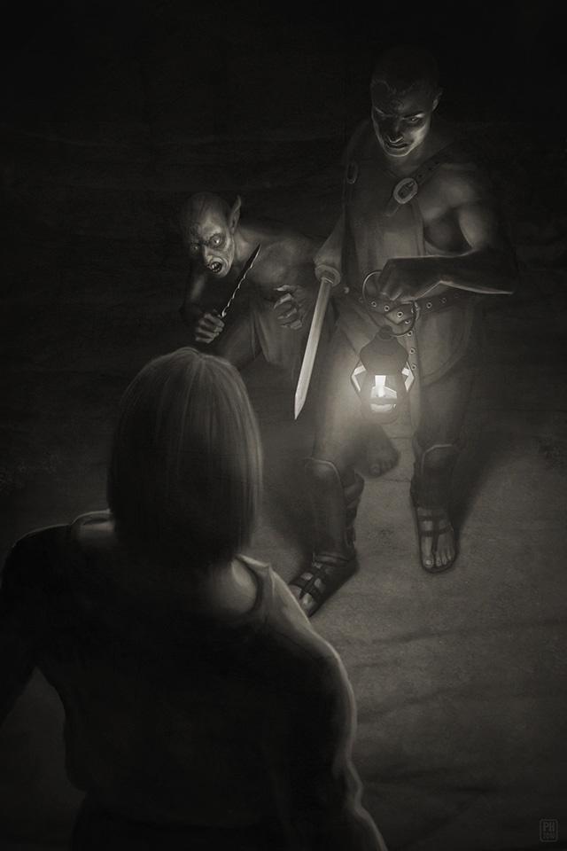 The Black Hulk Mob, 2011.  © Tin Man Games Ltd.