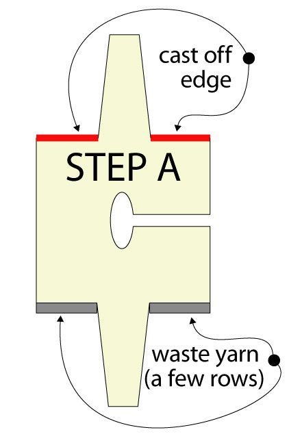TECHknitting- Cuff to cuff technique