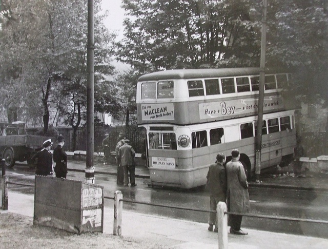 Plumstead Common Bus Crash Late 1940s Old London