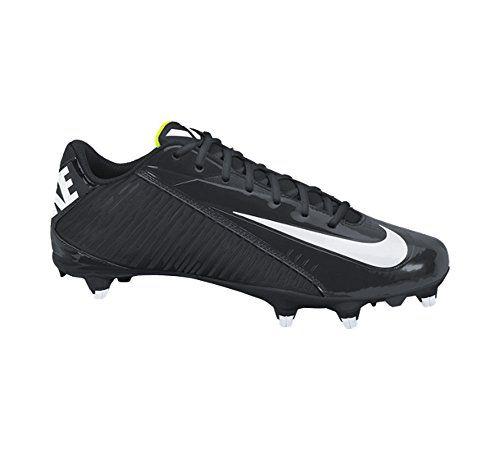 Nike Mens Vapor Strike 4 Low D Football Cleats Black/Whit... https