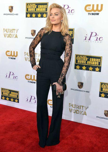 Margot Robbie at Critics Choice Awards 2014