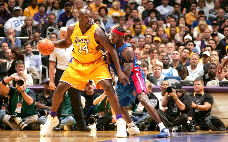 Shaq vs Ben Wallace - 2004 NBA Finals