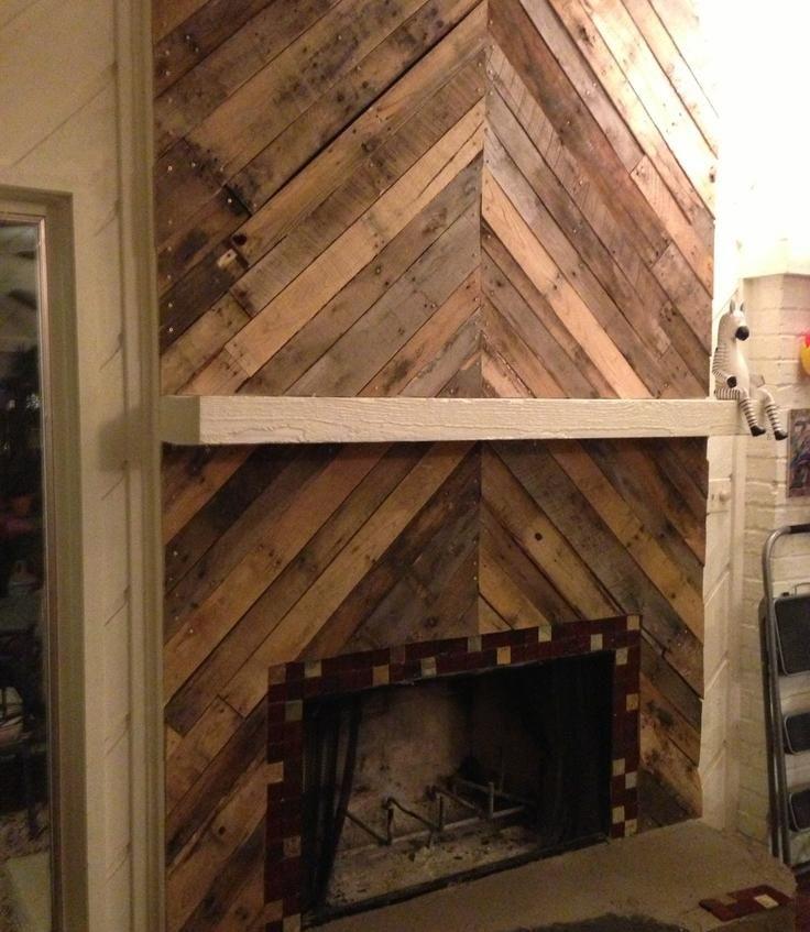 deavita fr manteau de cheminée décoratif fait maison manteau de ...