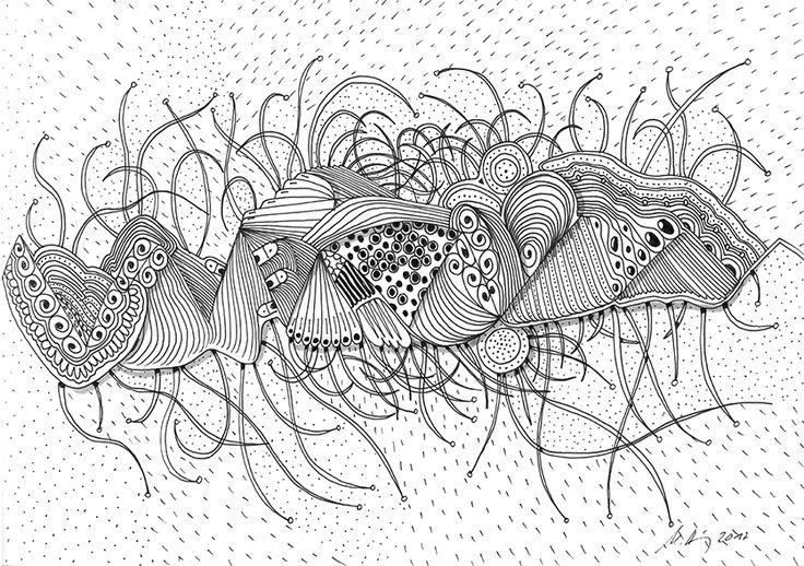 """""""dramatic monday morning"""", #Zeichnung #Pigmenttusche (Staedtler Pigment Fineliner) auf #Hahnemühle #Papier """"Nostalgie"""", 190 g/m2 21 x 29,7 cm, © #matthias #hennig 2017    """"dramatic monday morning"""", #india #ink #drawing (Staedtler Pigment Fineliner) on Hahnemühle #paper """"Nostalgie"""",190 g/sqm 21 x 29,7cm, © #matthias #hennig 2017 #myStaedtler #hennigdesign #artwork #moremoneyforartists #iwantmore"""