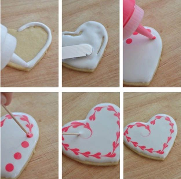 love these heart cookies