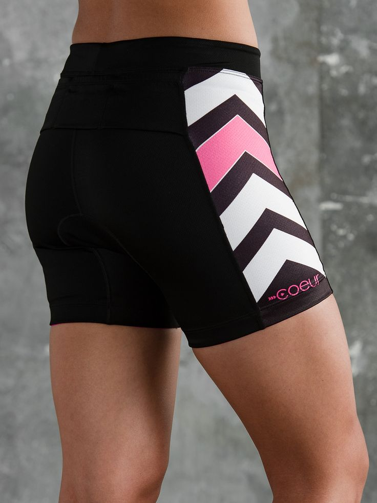 Women's Triathlon Shorts The Zele line was created for women who value performance and style. The design team worked with elite athletes and aeronautical engineers to create garments that are proven t